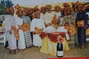 Photo of Mrs. Oniru's Birthday Party. (Lagos, 2005)